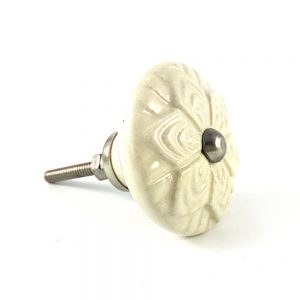 Cermaic Flower Design Knob