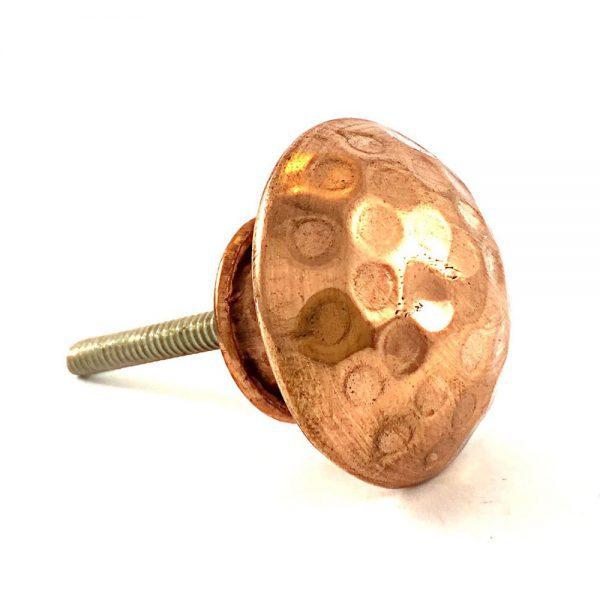 Round Hammered Knob