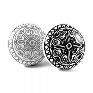 Round Mandala Design Knob
