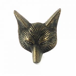 Mr. Fox Brass Knob