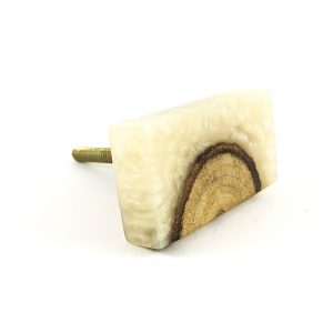 Resin and Timber Knob