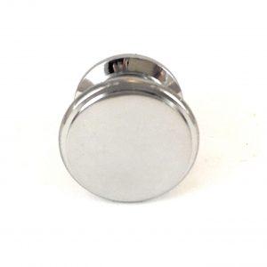 Chrome Round Solid Brass Knob