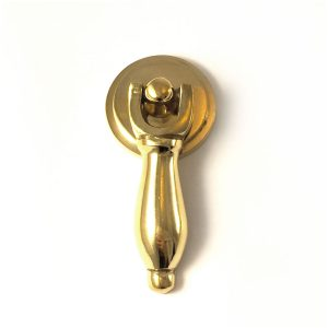 Polished Brass Teardrop Pull