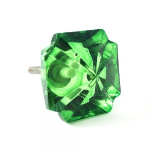 Emerald Green Gemstone Knob Main