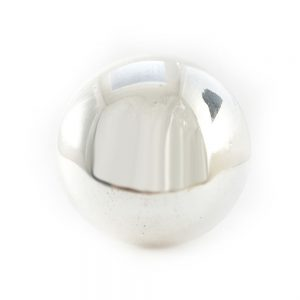 Round Glass Mirrored Knob Main