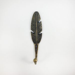 Antique gold Feather hook 1 300x300 c - Shop for Cabinet Handles, Cabinet Pulls & Wall Hooks