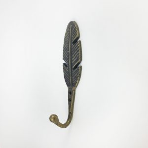 Antique gold Feather hook main 300x300 c - Shop for Cabinet Handles, Cabinet Pulls & Wall Hooks