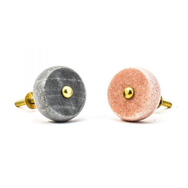 Pink Sand Wash Marble Knob
