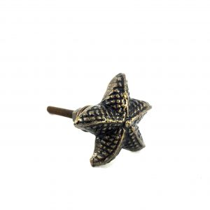 Antique Gold Starfish Knob
