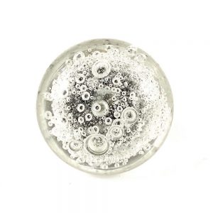 Bubble Glass Knob 1 1 300x300 - Solid Clear Bubbled Glass Knob