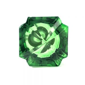 Emerald Green Glass Knob