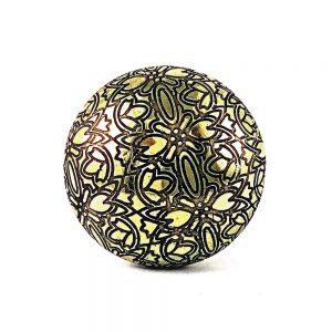 Gold Floral Embossed Knob