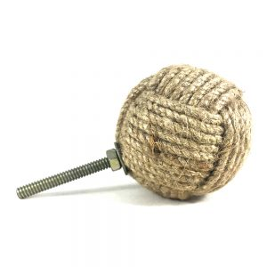Large round Jute knob main 300x300 - Embracing Boho Style With Small Decor