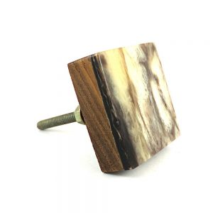 Marbled Square knob
