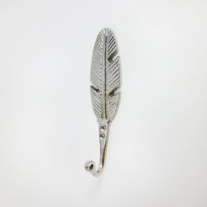 Silver feather hook main 300x300 - Silver Feather Wall Hook