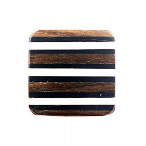 Square Striped Wooden Knob 1 300x300 - Square Striped Wooden Knob