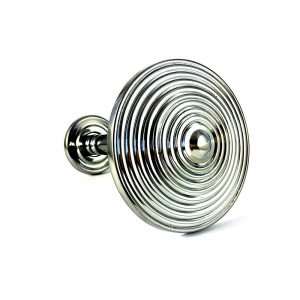 Pair- Chrome Spiral Curtain Holdback