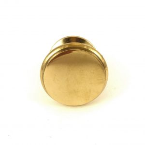 Gold Round Solid Brass Knob