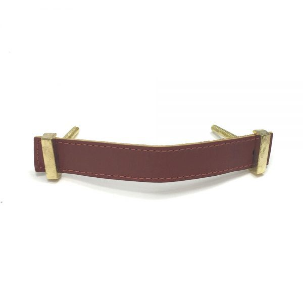 Brown – Faux Leather Handle
