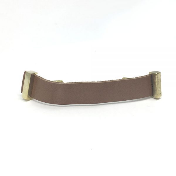 Tan – Faux Leather Handle