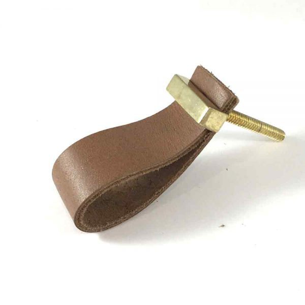 tan faux leather pulls 4 600x600 - Tan - Faux Leather Drawer Pull