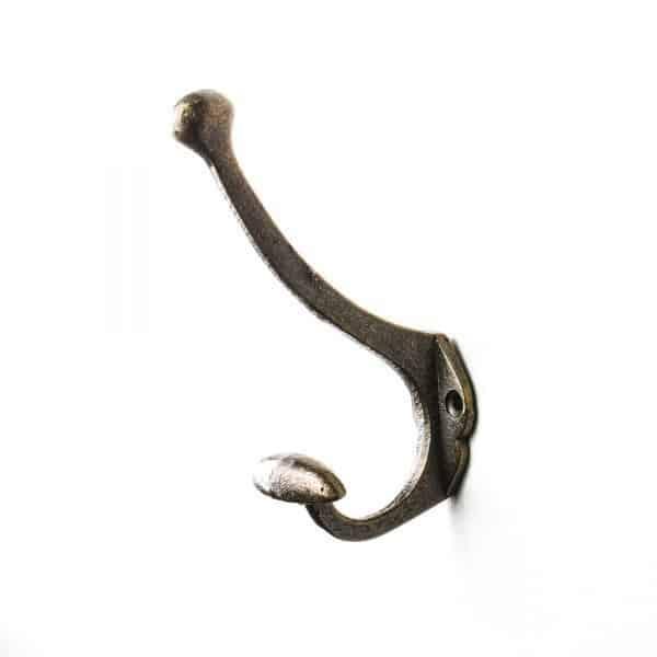 Antique Gold Vintage Coat Hook