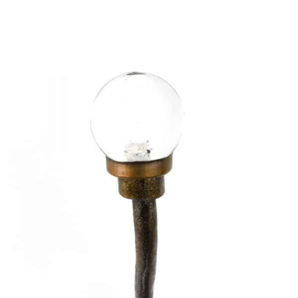 Glass Ball Single Wall Hook