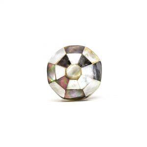 Checkered Octagon Shell Knob