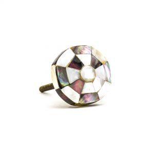 Checkered Octagon Shell Knob