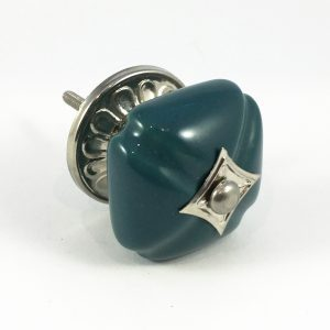 Emerald Vintage Inspired Ceramic Knob