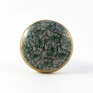 Green tropical print knob 2 300x300 - Shop for Cabinet Handles, Cabinet Pulls & Wall Hooks