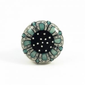 Mint spring flower knob 4 300x300 - Light Blue Spring Flower Knob