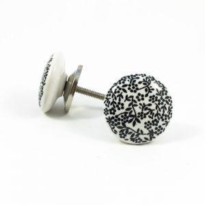 delicate leaf print knob 1 300x300 - Shop for Cabinet Handles, Cabinet Pulls & Wall Hooks