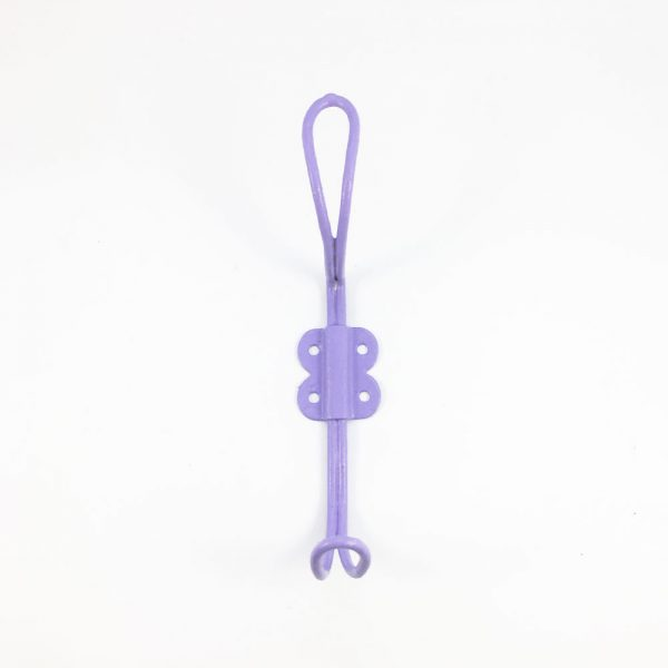 Purple Wall Hook 1 600x600 - Purple Iron Wall Hook
