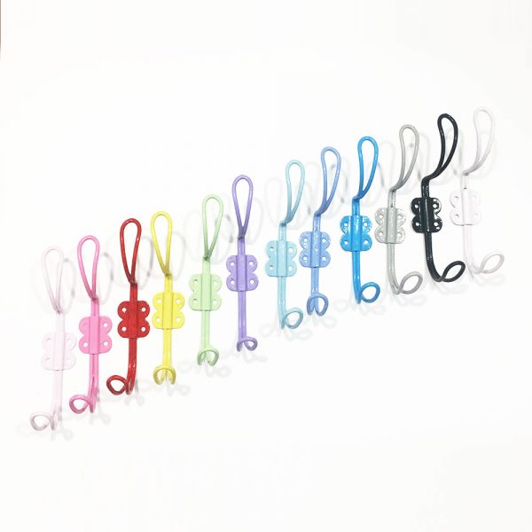 Wall hooks 1 600x600 - Baby Pink Iron Wall Hook