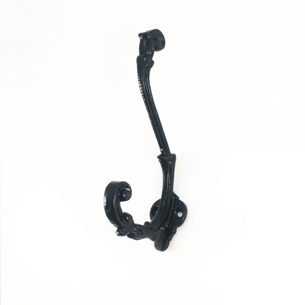 Black Wrought Iron Hook