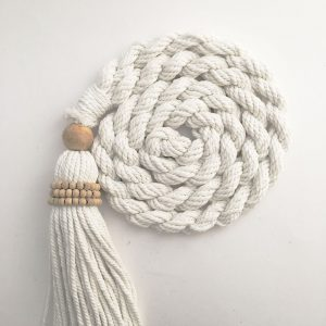 bohemian macrame curtain tiebacks group 7 300x300 - Home Décor that Brings the Outdoors Indoors