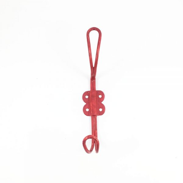 Red Iron Wall Hook