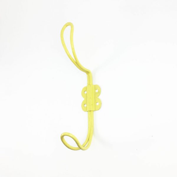 Yellow Iron Wall Hook