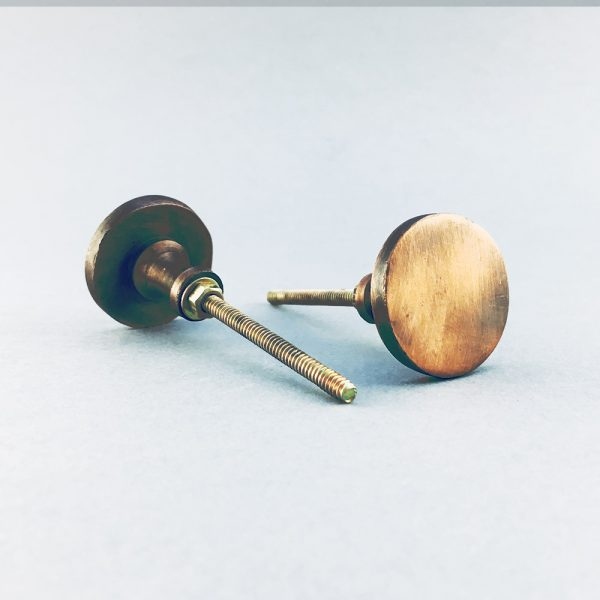 copper iron circle knob 1 600x600 - Copper Circle Iron Knob