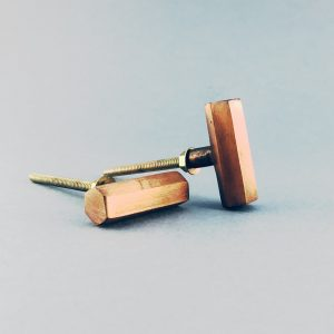 copper iron hexagon tpull knob 1 300x300 - Copper Hexagon T-Bar Pull