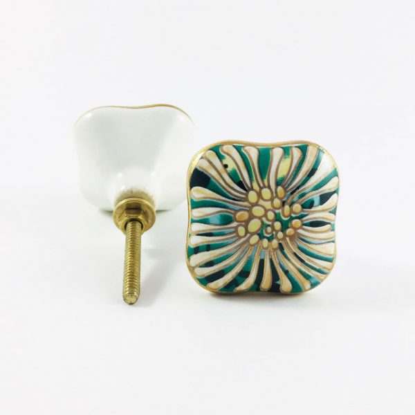 Great Gatsby Art Deco Detailed Knob
