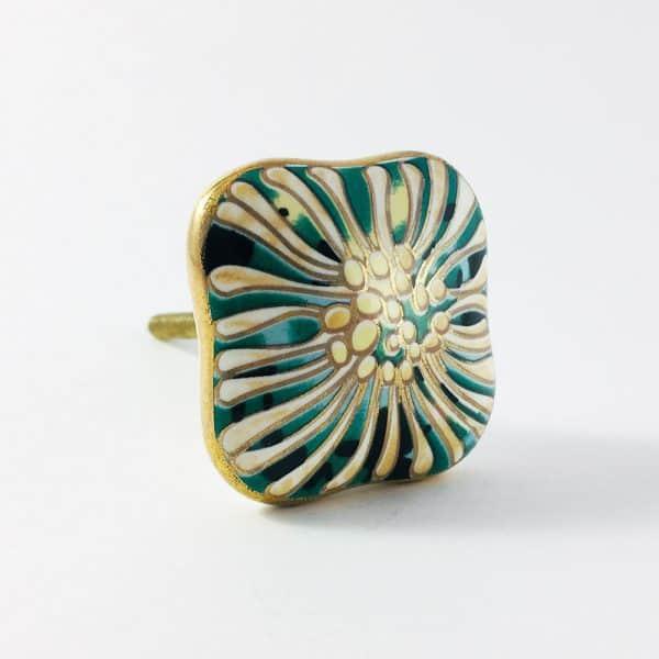 Great Gatsby Art Deco Detailed Knob