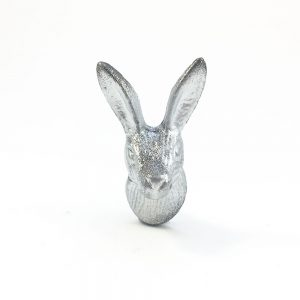 iron rabbits silver and gold 2 300x300 - Silver Iron Rabbit Knob
