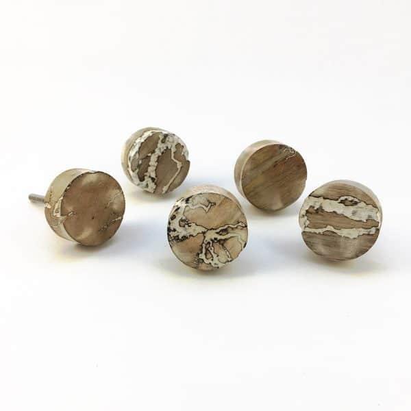 round natural wood knob 1 600x600 - Round Natural Wood Knob