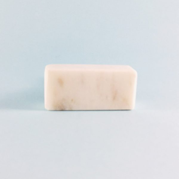 solid rectangle white marble knob 4 600x600 - White Solid Rectangle Marble Knob