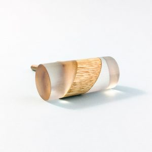 split wood and resin cylinder pull 3 300x300 - Split Wood and Resin Cylindrical Pull