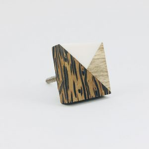 tangram wood and resin knob 13 300x300 - Bone Hexagon Knob