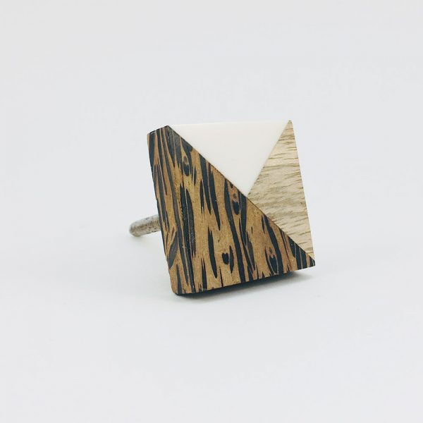 tangram wood and resin knob 13 600x600 - Tangram Wood and Resin Knob