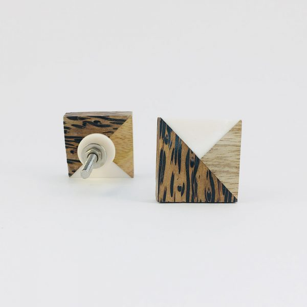 tangram wood and resin knob 3 600x600 - Tangram Wood and Resin Knob